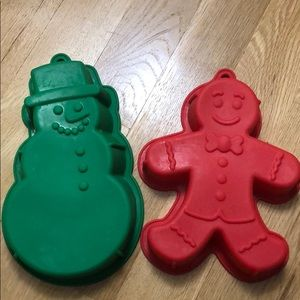 Other - Set of 2 Silicone Baking Pans